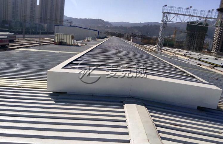 昆明西客站检修通风天窗工程项目
