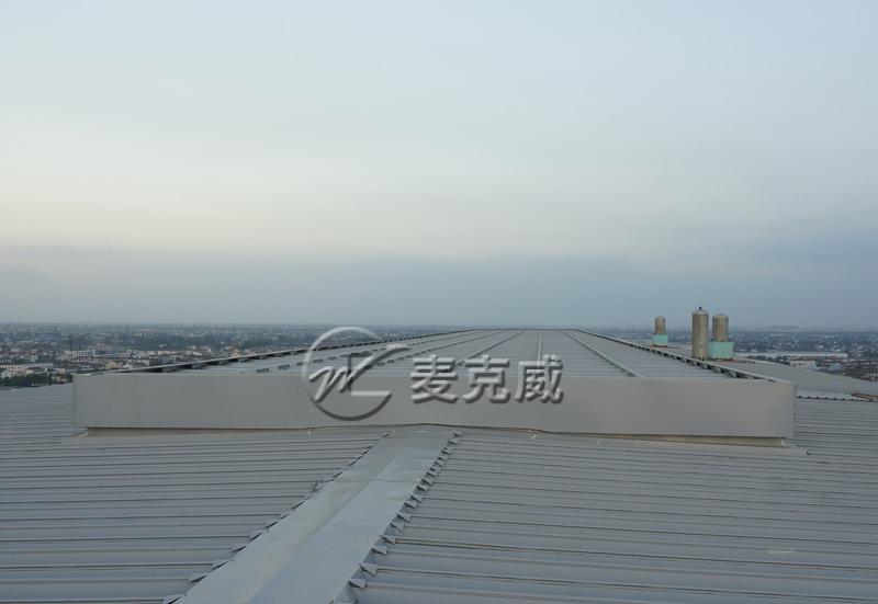 沙钢屋顶通风天窗项目