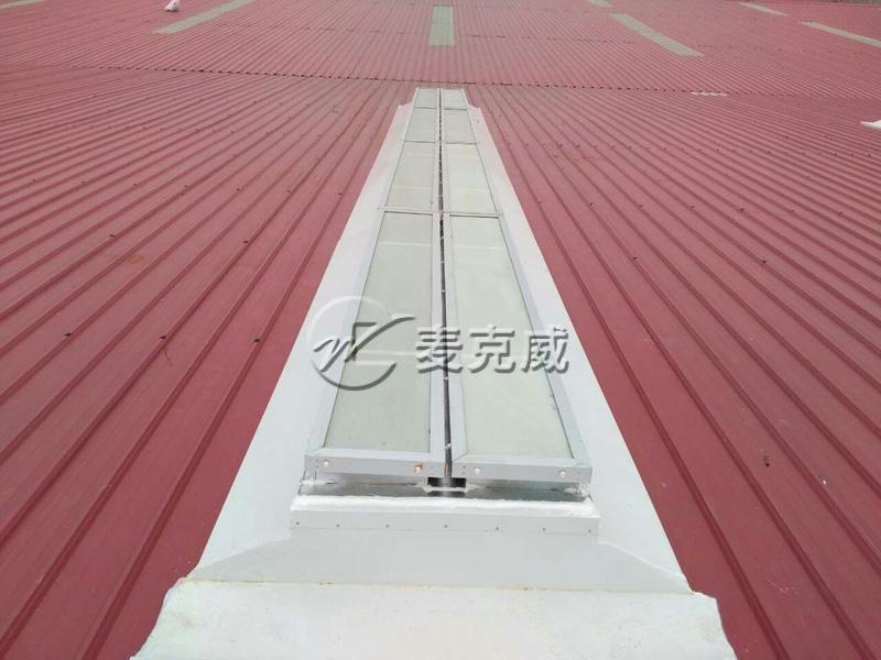 林肯万峰林电梯制造基地—贵州一字型电动采光排烟天窗