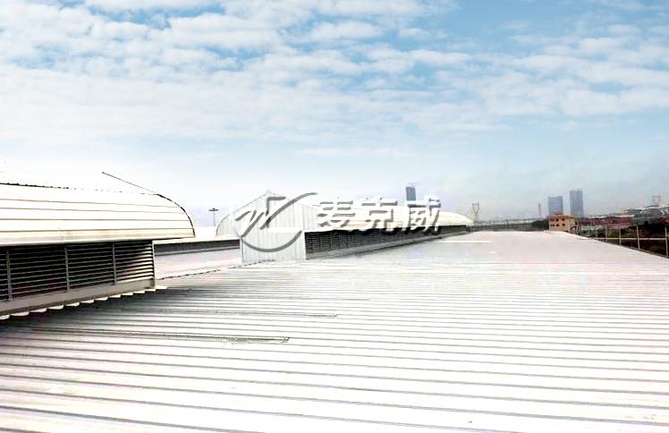广州轨道交通通风气楼工程项目