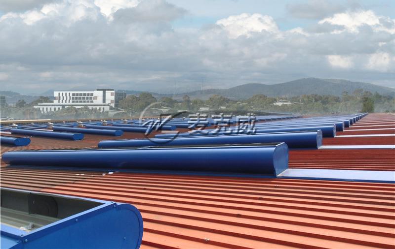 重庆宗申动力通风天窗工程项目