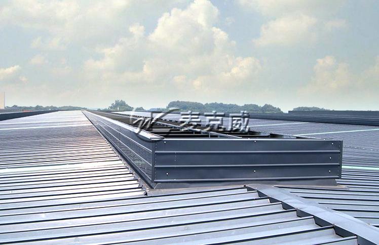 华西能源厂房通风天窗项目