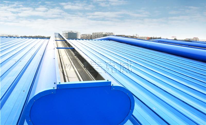 万都(北京)汽车底盘系统2#厂房钢结构维护屋顶气楼工程