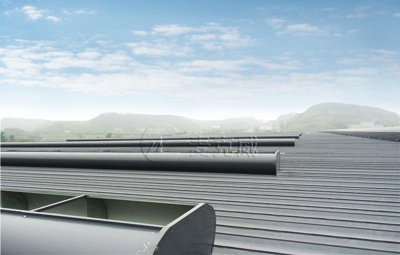 安徽动力源厂房顺坡通风天窗项目