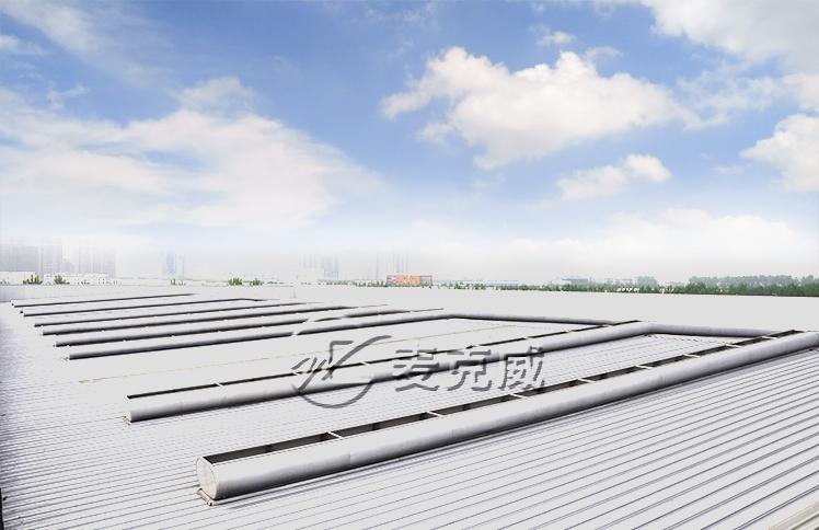 西部铁路物流园屋顶通风器工程项目