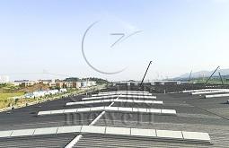 重庆三角型电动采光排烟天窗—金康新能源汽车