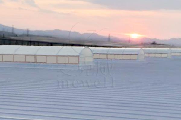 维龙智慧物流园—广东圆拱型排烟天窗