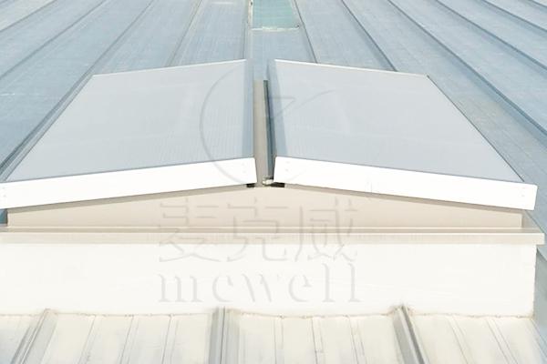 C1ST三角形电动采光排烟天窗(上开式)