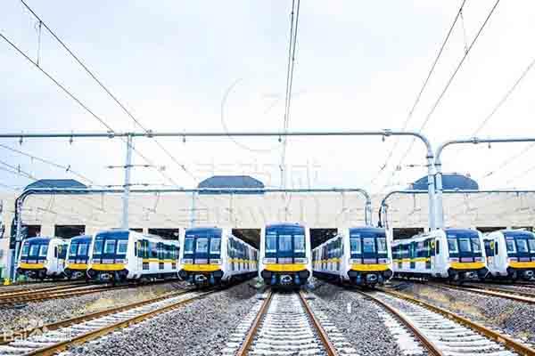 成都地铁9号线-四川流线型通风排烟天窗