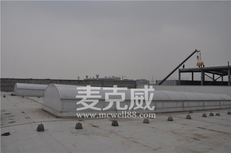成都屋顶电动采光排烟天窗材料控制简介