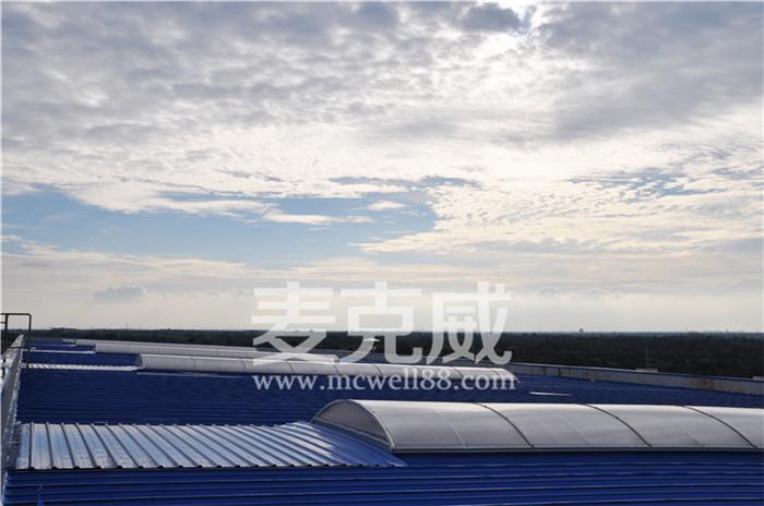 屋顶采光排烟天窗排烟原理及适用范围