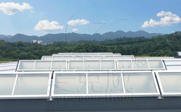 钢结构厂房天窗优缺点