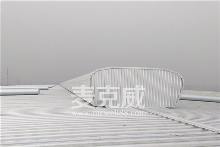 陕西西安诚嵘汽车屋脊通风气楼项目