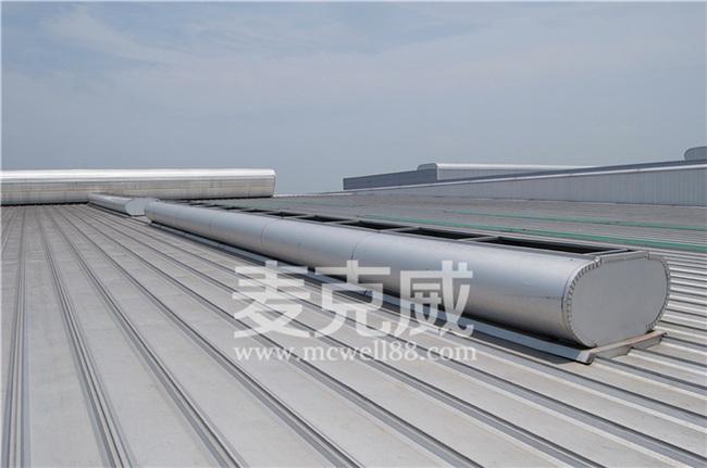 宏图智能立体仓库升级改造通风天窗项目