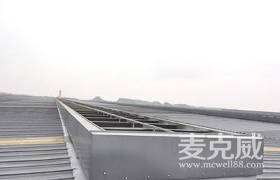 MCW1型通风天窗(并列风道式)