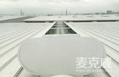 MCW7型通风天窗(箱型骨架式)