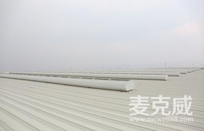 MCW6型流线型通风天窗(整体骨架式)