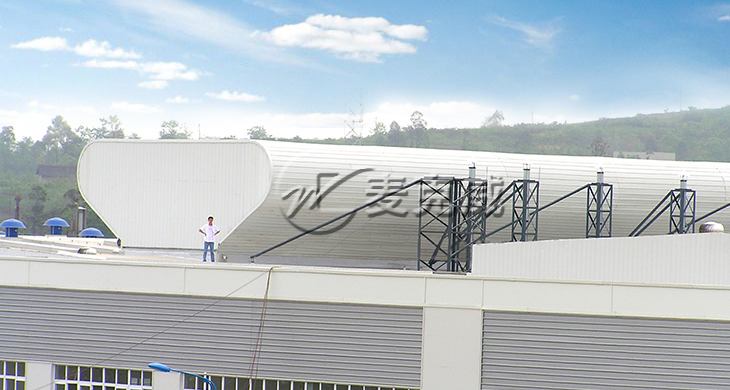 通风天窗厂家如何进行安装