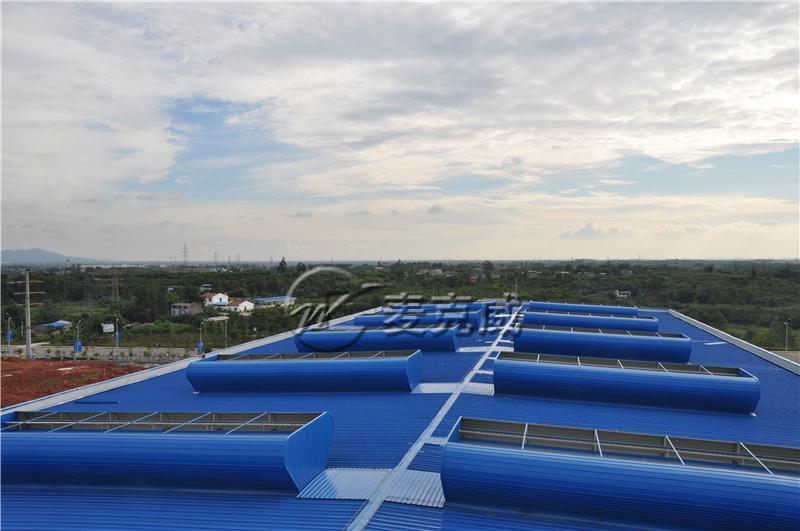 四川锅炉厂房通风天窗项目