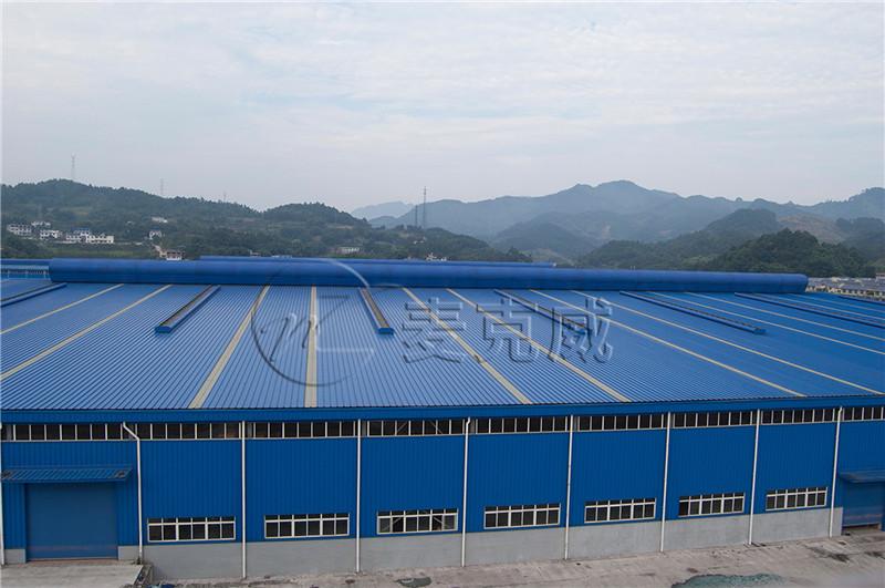 (四川)有限公司12万易拉罐线厂房、连接走廊工程通风天窗项目