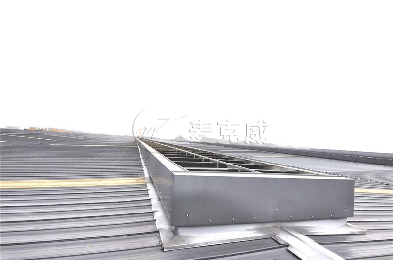 华西能源科技园低排放余热高效节能锅炉产业化项目屋顶通风天窗工程