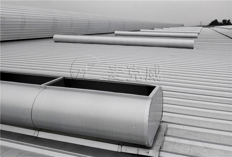 三爱海陵钢结构厂房屋顶天窗制作及安装