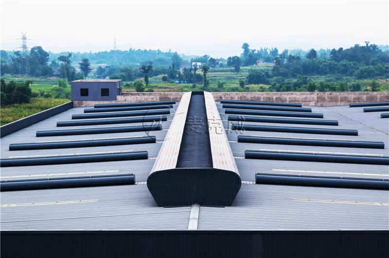 中铁建工西南产业园项目屋顶通风天窗工程