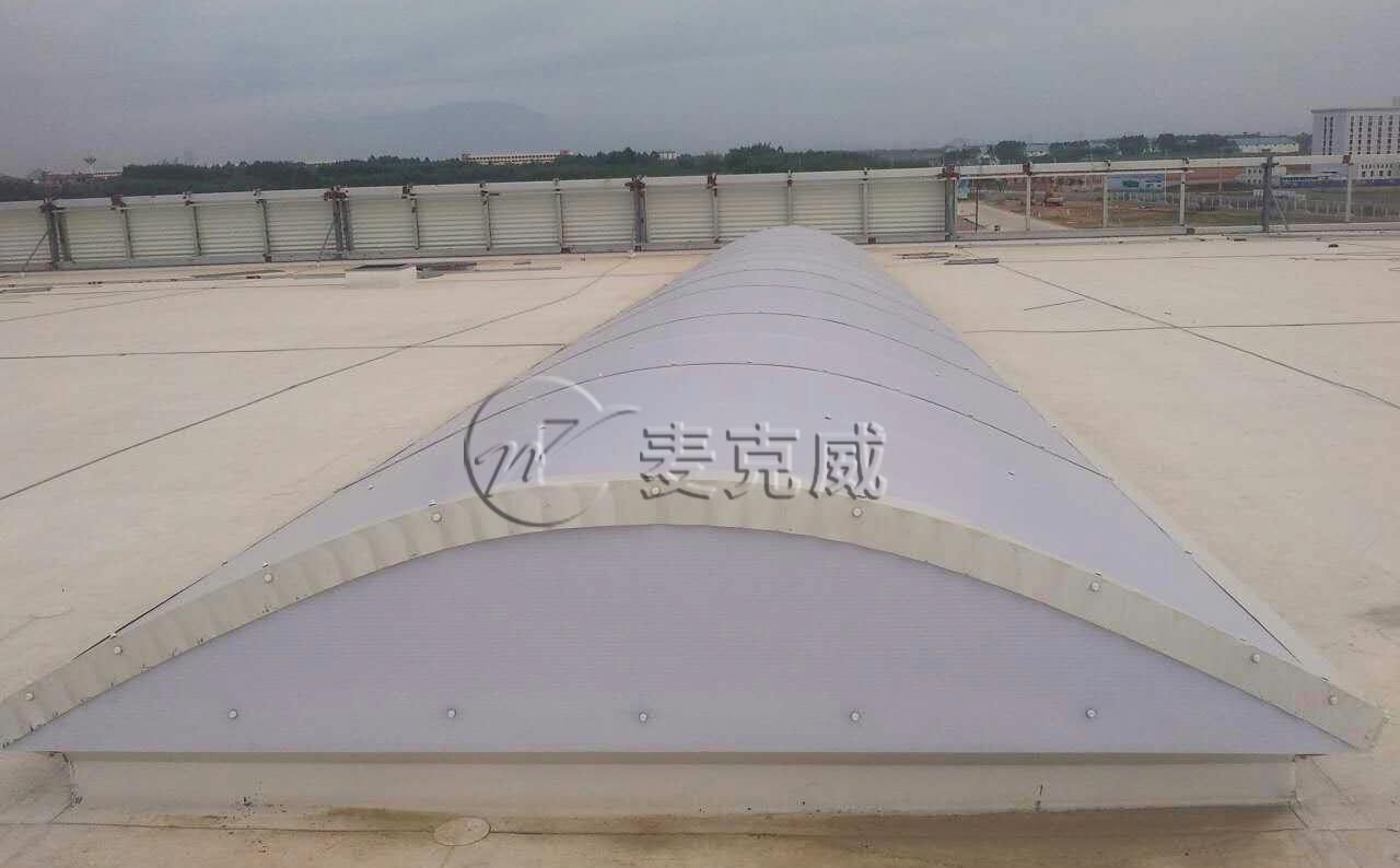 广西贵港华奥汽车制造二期通风天窗、采光带、圆拱型电动天窗工程