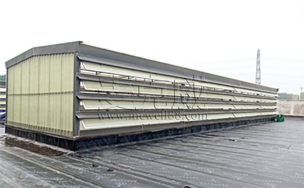 麦克威天窗——宜宾锂宝侧开型电动排烟天窗