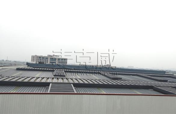 中国中车成都轨道交通薄型通风天窗项目